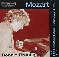モーツァルト:ピアノ・ソナタ全集 Vol5