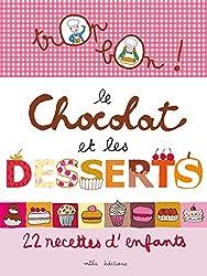 recette de cookies dans Trop bon le chocolat et les desserts : 12 recettes d'enfants