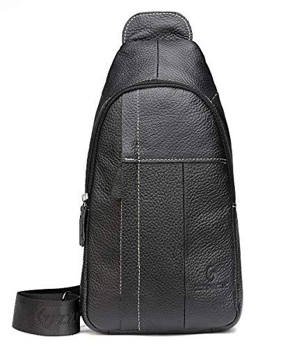 Our #5 Pick is the Chrysansmile Genuine Leather Shoulder Sling Bag