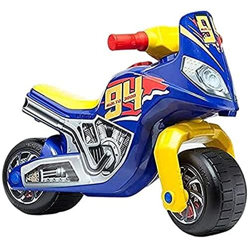 MOLTO | Moto Correpasillos Cross Race | Moto Corre Pasillos Todo Terreno | Juguetes Infantiles Seguros y Resistentes | Fomenta el Sano Desarrollo de Niños y Niñas | De 18 a 36...