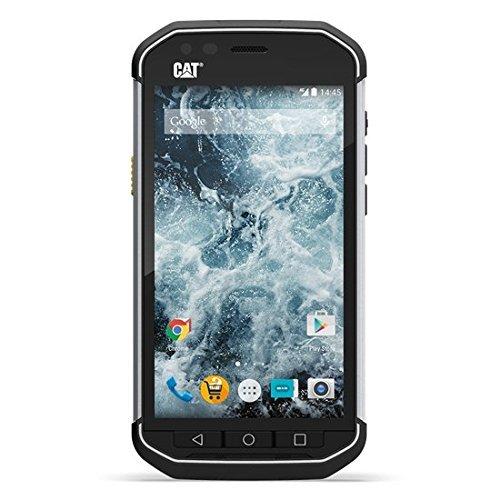 CAT S40 Outdoor Smartphone (Dual-SIM, 4,7 Zoll (11,94 cm), 8 MP, 1GB, 16GB int. Speicher, LTE, staubfest, stoß und sturzfest) schwarz/silber (Generalüberholt)