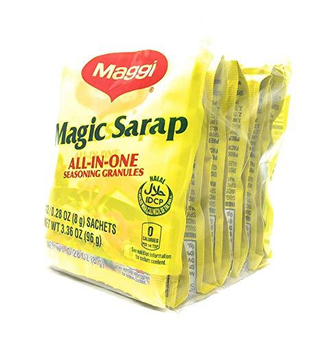 Maggi Magic Sarap, All In One Seasoning Granules, 12 Sachets (12 x 0.28 oz (8g))