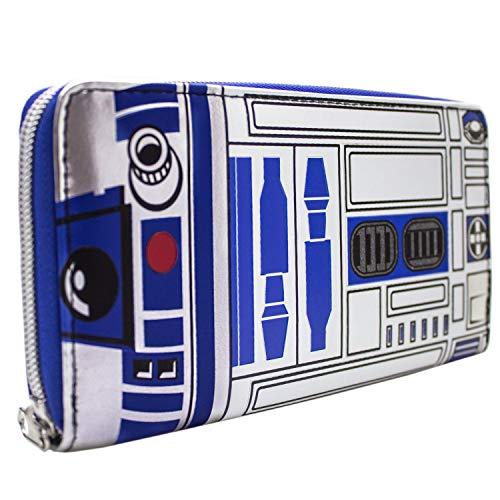 A New Hope Star Wars R2-D2 Droid Portemonnaie Geldbörse Blau