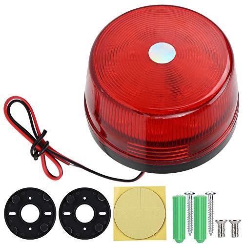 DAUERHAFT Verbessern Sie die LED-Warnleuchte für die Verkehrssicherheit für Sicherheitskräfte, Tore und Straßen(red)