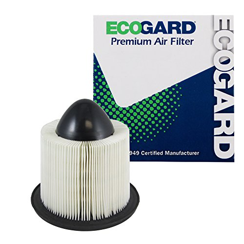 ECOGARD XA4878 Premium Engine Air Filter Fits Ford F-150 1997-2008, Expedition 1997-2004, E-350 1999-2019, F-250 Super Duty 1999-2004, E-250, Mustang 1996-2004, E-150 2003-2014