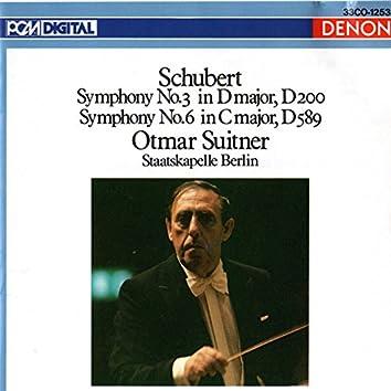 Franz Schubert: Symphony No. 3 &  No. 6
