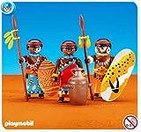 Playmobil 7460 - Indígenas africanos (nueve en bolsa sellada)