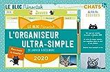 L'organiseur ultra-simple pour les amoureux des chats : De janvier à décembre 2020
