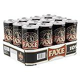 12 x Faxe stout extra fuerte de lata de Dinamarca 1 litro 10% vol. cerveza