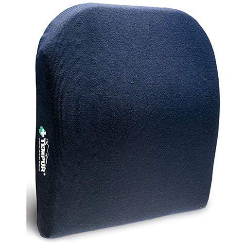 TEMPUR Lordosekissen I höhenverstellbar I Farbe blau I Größe 36 x 36 x 7 cm