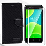 HYMY Bookstyle Flip Phone Case Cover Shell for Wiko Y50 +