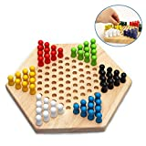 Cheerpet Wooden Chinese Checkers