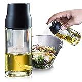 Pulverisateur Huile d'olive, Vaporisateur Spray Huile avec Pompe à Air Manuelle, Oil Sprayer...