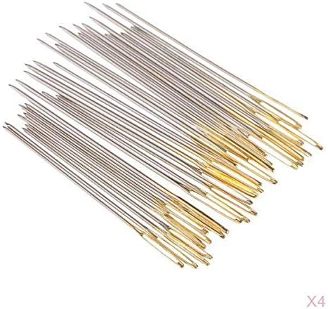 Segolike 120x Large Eye Blunt Max 42% OFF Needles Thick Hand fo Knitter Max 64% OFF Wool