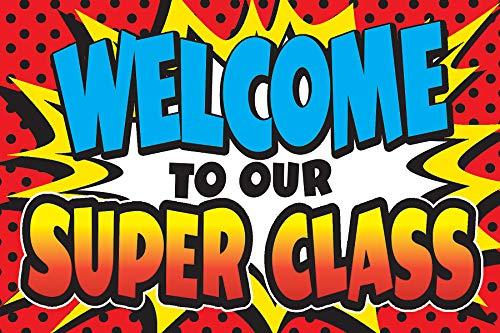 Teacher Created Resources Superhero Welcome Postcards (5652)