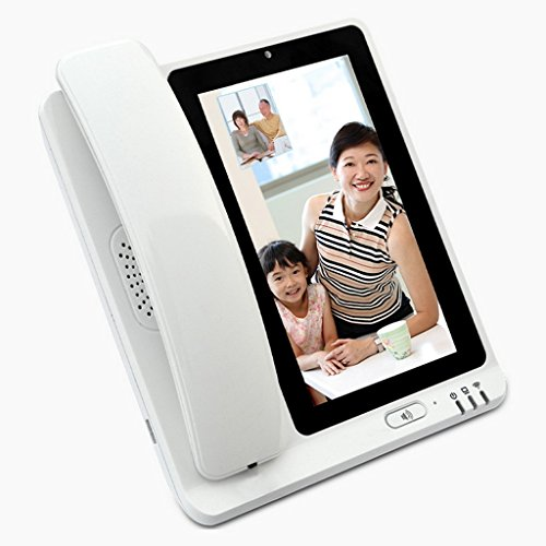 DH-NATN Telefono Telefoni con filo, telefoni fissi, telefono a muro, Smart, videotelefono, rete fissa domestica, ufficio, hotel, VOIP, video touch screen di rete -