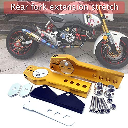 Motorcycle Telescopic Flat Fork Extension Stretch Kit Rear Fork Extension Device For Grom MSX125 MSX125SF
