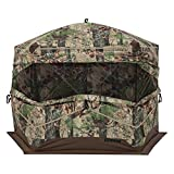 Barronett Blinds BX550BW Ox 5 Pop Up Portable 5-Sided Hunting Blind, Backwoods Camo