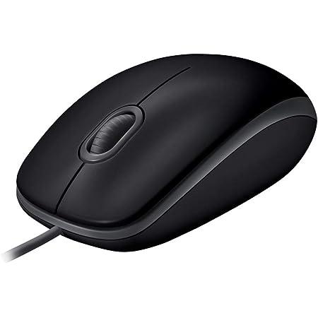 ロジクール M110sBK 有線 静音 マウス 左右対称型 USB 簡単接続 M110s 静音マウス ブラック 国内正規品