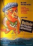 Balduin, der Trockenschwimmer - Louis De Funes - Filmposter