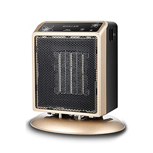 WUYI Mini-Heimheizgerät Miniatur Warmluft Home-Office-Desktop-Klimaanlage Lüfter Fußwärmer Zweiter Gang Funktion Einstellbar Maximale Leistung 900W