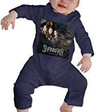 RuiPeng Unisex Baby Crew Neck Long Sleeve Romper The Shannara Chronicles The Journey Begins Funny Jumpsuits Sleepwear Black