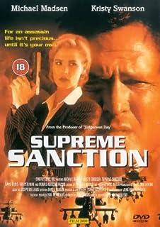 Supreme Sanction Action Crime DVD NEW-KOSTENLOSE LIEFERUNG