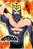 Tiger Mask notebook: 120 Wide Lined Pages - 6' x 9' - Planner, Journal, Notebook, Composition Book, Diary for Women, Men, Teens, and Children