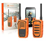 Power Talkie Off Grid Communication Device - Set of 2 Talk and Messenger...