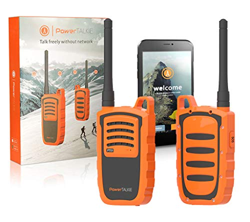 Power Talkie Off Grid Dispositivo de comunicación – Juego de 2 comunicadores de conversación y…