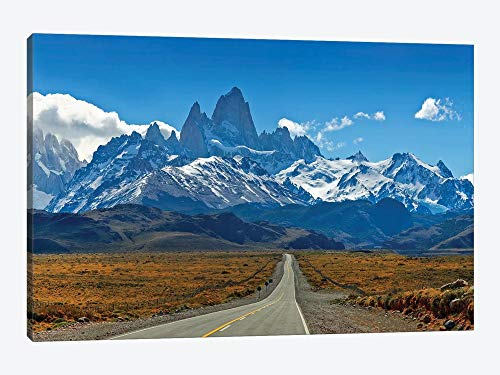 Quadro de parede Road To Patagonia para decoração de casa para sala de estar, quarto