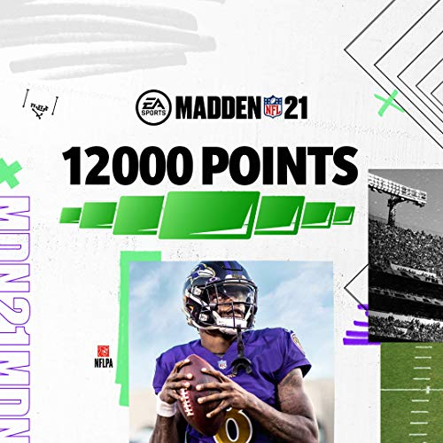 Madden NFL 21: 12000 Madden Points - PS4 [Digital Code]