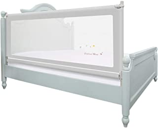 BAIF Toddler bars Vertical fold-down bed protection for baby sleep  color  gray  height  180 cm