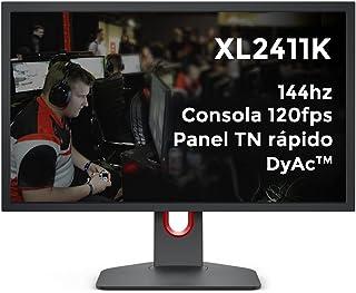 BenQ Zowie XL2411K 24 Inch 144Hz Esports Gaming Monitor,1ms | FHD | Height Adjustable | DP, HDMI |DyAc-Recoil Control, Bla...