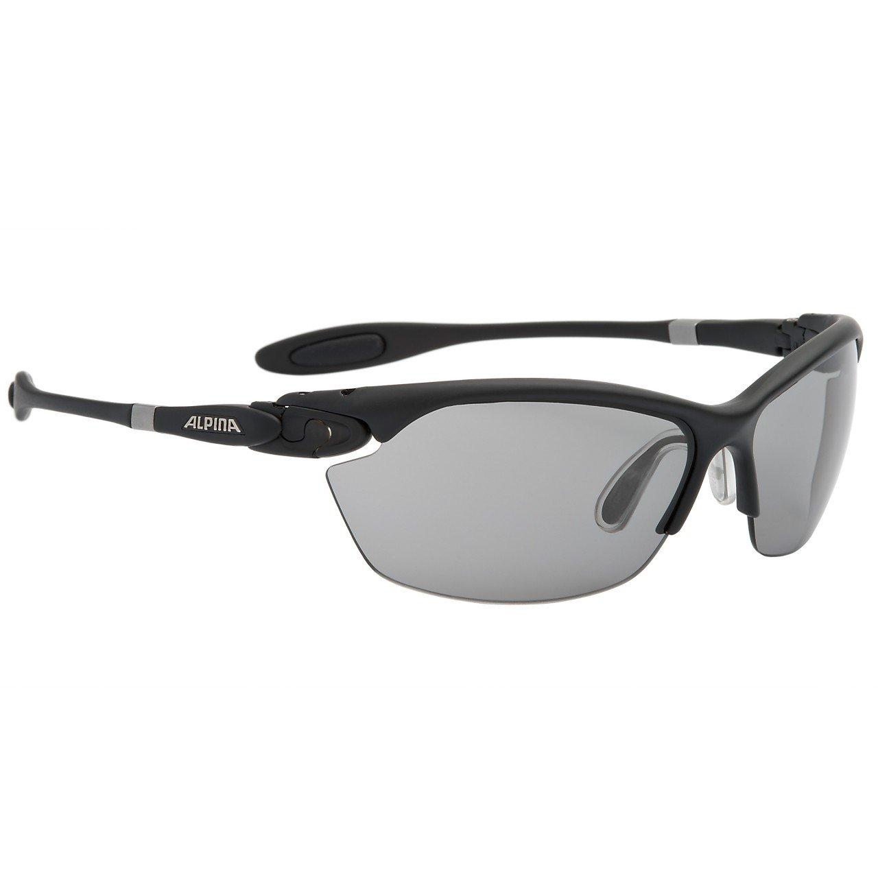 Alpina Sonnenbrille Performance TWIST THREE 2.0 VL Sportbrille, schwarz matt, on