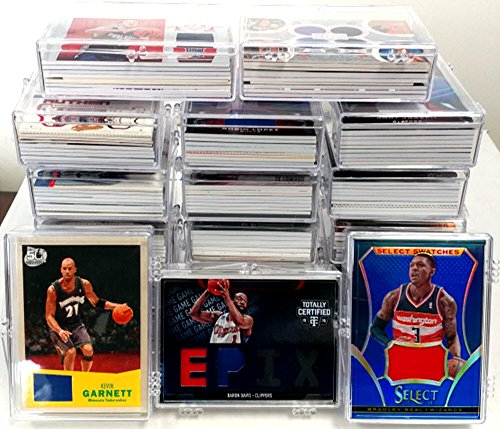 NBA National Basketball Association Cards Lot Of 10 With Each Card A Game Used Relic Card Or Autograph In Every Box