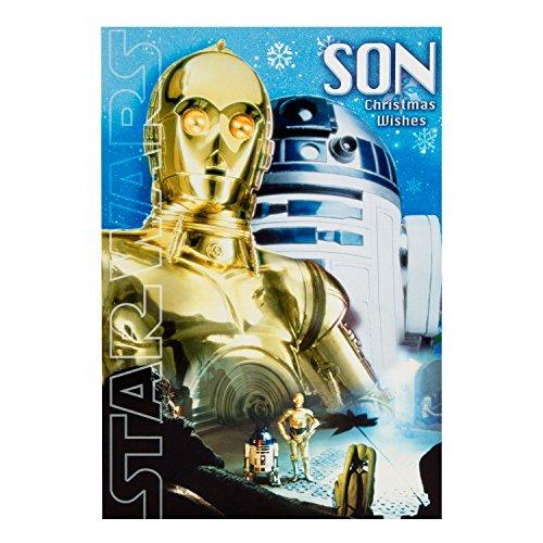 Hallmark Star Wars Weihnachtskarte für Sohn'Signs der Merriment'- Medium