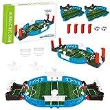 PerGrate Simulation Mini Tabletop Soccer Game Desktop, Mini Football Tabletop Arcade Game, Fun Kids...