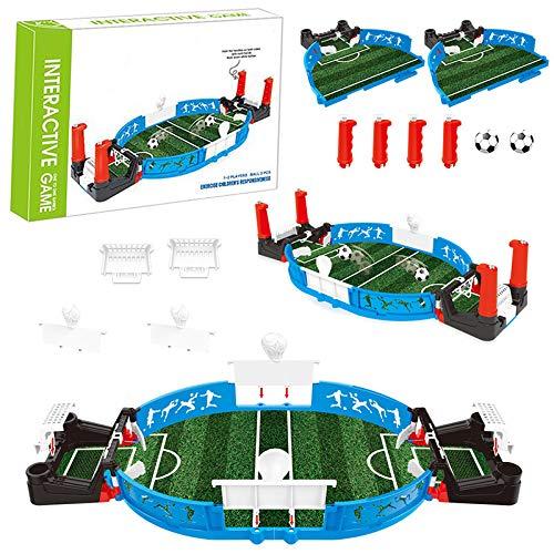 PerGrate Simulation Mini Tabletop Soccer Game Desktop, Mini Football Tabletop Arcade Game, Fun Kids Adults Table Soccer