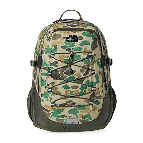 North Face Borealis Classic Backpack One Size Hawthorn Khaki Dark Camo Print New Taupe Green