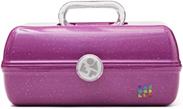 Caboodles Galaxy Glam - On-The-Go Girl Makeup Organizer, Berry Sparkle