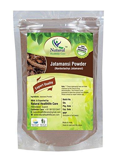 Natural Healthlife Care 100% Natural Jatamansi (NARDOSTACHYS JATAMANSI)(Rhizome) Powder(Ayurvedic Stress Relief Formulation) (227g / (1/2 lb) / 8 ounces)