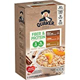 Includes 32 packets (4 boxes, 8 packets per box); Each box includes 8 packets of instant oatmeal; 4 Maple and Brown Sugar, 2 Cinnamon, 2 Banana Bread A source of protein and fiber to help you feel full At least 37 grams of whole grains per serving Co...