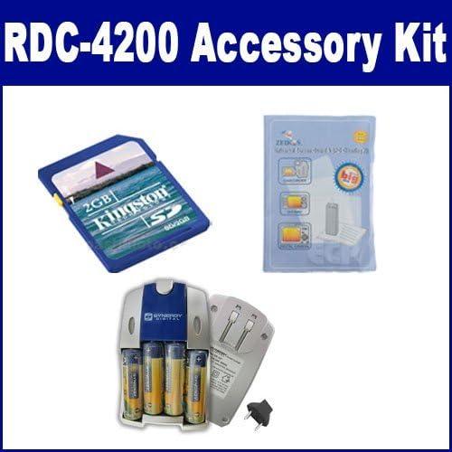 Ricoh RDC-4200 Super popular specialty store Digital Camera Accessory Includes: Max 50% OFF ZELCKSG Ca Kit