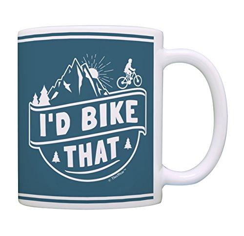 I'd Bike That Funny Mug