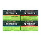 Bigelow fruit flavored Green Tea varitey pack! Four flavors: Peach, Mango, Pomegranate, and Blueberry.