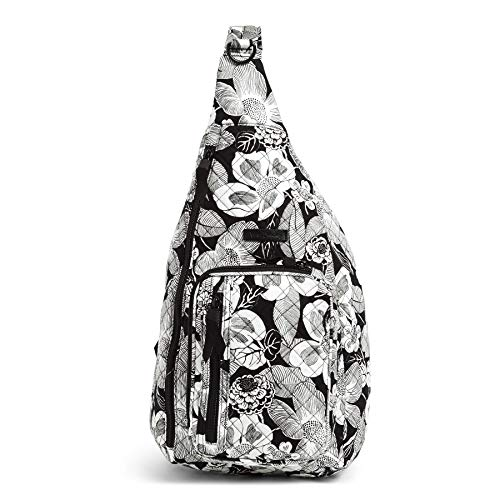 Vera Bradley Signature Cotton Sling Backpack, Bedford Blooms