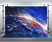 新しいJSCTWCL10x7ft地球表面背景銀河自然風景写真背景写真撮影小道具061
