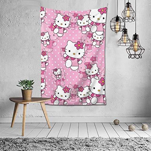 LaoJiNan-shop - Tapiz decorativo para dormitorio, salón, pared, decoración del hogar, manta de fiesta de 60 x 40 pulgadas