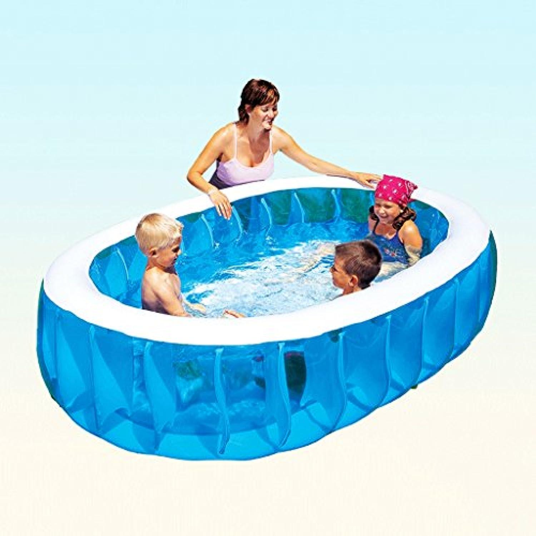 Aufblasbare Pool Erhhung Planschbecken Erwachsenen Familie Pool aufblasbare Badewanne aufblasbaren Pool LITING_WANG (Farbe   Package C)